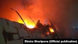 Пожар на рынке «Берекет», 13 апреля 2018 г.