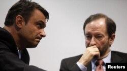 Министерот за внтарешни работи на БиХ Садик Ахметовиќ и амбасадорот на САД во Сараево Патрик Мун