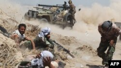 نیروهای عراقی در نزدیکی فلوجه
