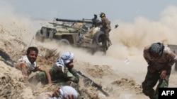 Forcat pro-qeveritare në Fallujah, 25 Maj 2016