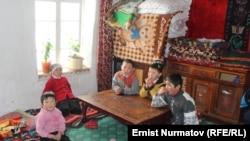 Дети мигрантов. Юг Кыргызстана. Иллюстративное фото
