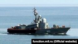 Ракетный катер Черноморского флота России Р-239