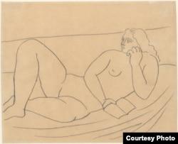 Рисунок Пабло Пикассо