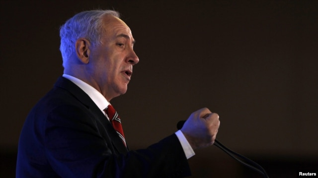 Prime Minister Benjamin Netanyahu says sanctions against Iran should include the threat of military action.