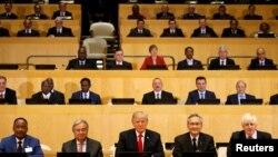 Американскиот претседател Доналд Трамп на состанокот за реформи на ОН, Њујорк, 18.09.2017.