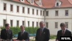 Лідери Вишеградської групи. Прага, 16 червня 2008