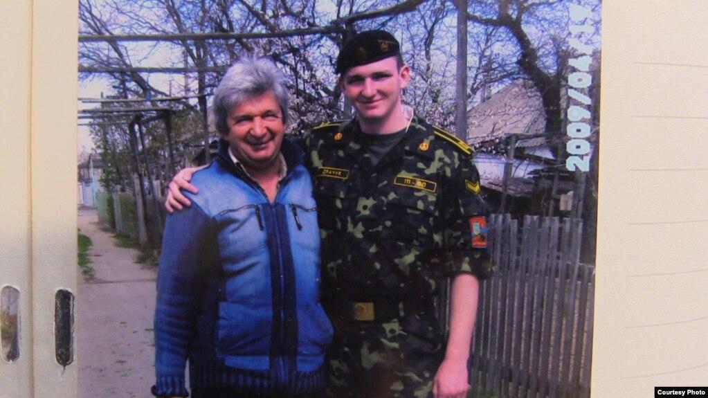 Віктор Драчук із сином Любомиром