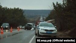 ДТП на автодороге Ялта – Севастополь, 17 марта 2021 года