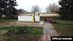 Центр Станиці Луганської, де 17 квітня впав пам'ятник Леніну