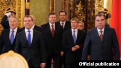 Саміт Євразійського економічного співтовариства, Москва, 19 березня 2012 року. Президент України Віктор Янукович виступає як спостерігач