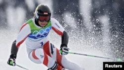 В командных соревнованиях в лыжном двоеборье лучшей стала сборная Австрии, 23 февраля 2010 года