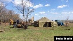 Облаштування оборони Артемівська