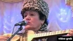 Uzbekistan - Olmahon Hayitova, honored artist of Uzbekistan