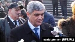 Секретарь Совета безопасности Нагорного Карабаха Виталий Баласанян, Ереван, 28 января 2019 г.