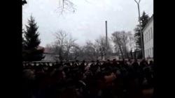 Протестные волнение в Губе (Азербайджан)