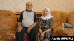 Асия Зиннурова с супругом. Архивное фото