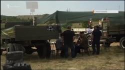 В Севастополе реконструировали бой за высоту Горная под Балаклавой (видео)