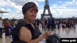Світлана Стаценко в Парижі