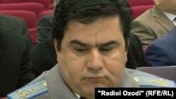 Экс-главы Следственного управления Агентства по финансовому контролю и борьбе с коррупцией Таджикистана Фируз Холмуродзода.