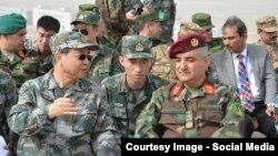 Встреча китайских и афганских военных. Иллюстративное фото.
