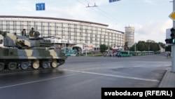 Минск. Репетиция военнного парада. 30 июня 2011 г