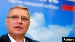 ПАРНАС партиясынын лидери Михаил Касьянов