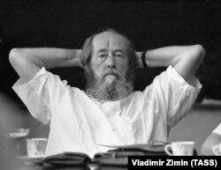 მწერალი ალექსანდრე სოლჟენიცინი