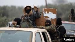 Pripadnici Al Nusra fronta u Siriji