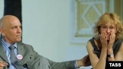 """Джон Малкович и Ингеборга Дапкунайте перед московской премьерой """"Вариаций Джакомо"""""""