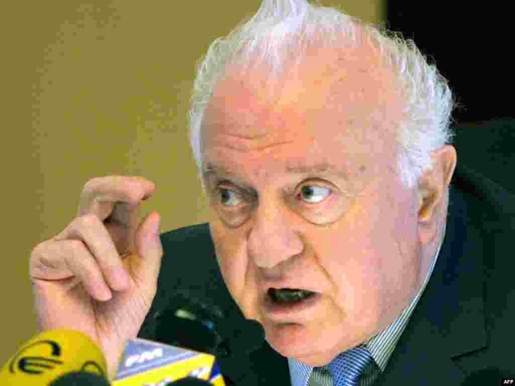Эдуард Шеварднадзе, Тифлис, 03 ноябри соли 2003