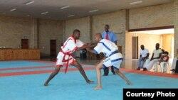 Чемпионат Африки по казакша курес в ЦАР (фото с сайта Международной федерации казакша курес).