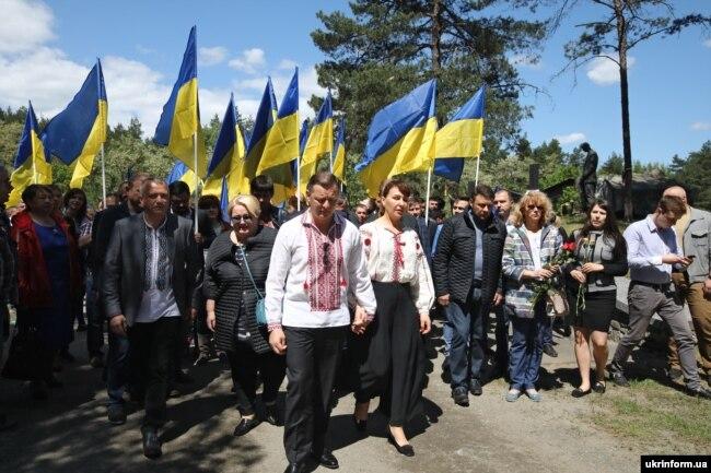 Олег Ляшко разом з дружиною Росітою Сайранен у 2018 році