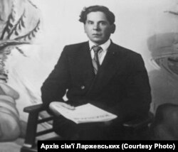 Леонід Ларжевський. Післявоєнне фото