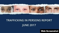 Trafficking in persons report, June 2017