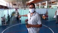 Полевой госпиталь во дворце спорта: как лечат коронавирус в Бишкеке