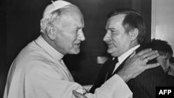 Papa Jovan Pavle II i Leh Valensa, jun 1987.