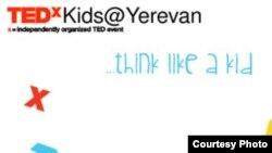 Armenia -- The logo of TEDxkids conferece in Yerevan, undated.