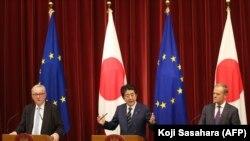امضای توافق تجارت آزاد میان اتحادیه اروپا و ژاپن در سال ۲۰۱۸
