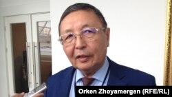 Аслан Қаржаубаев, Еңбек, әлеуметтік қорғау және көші-қон комитеті төрағасының орынбасары. Астана, 20 қыркүйек 2016 жыл