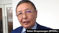 Заместитель председателя комитета труда, социальной защиты и миграции министерства здравоохранения и социального развития Аслан Каржаубаев.