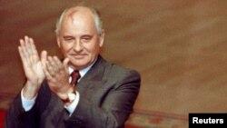 Президент СССР Михаил Горбачев в августе 1991 года.