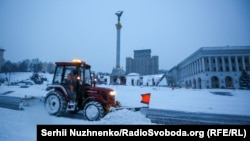 У Києві випало 30 сантиметрів снігу – фоторепортаж