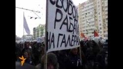 Марш несогласных. Выход к Болотной площади