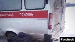 Машина скорой помощи Безенчукского района сломалась на трассе