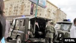 Правоохранительная система готова к встрече с участниками оппозиционных акций. 13 апреля, Тверская