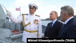 Владимир Путин и Вячеслав Шпорт