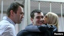 Виктория Навальная перед расставанием с мужем Олегом Навальным