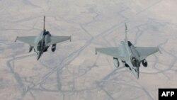 Ֆրանսիական Rafale օդանավերը հետախուզական թռիչք են իրականացնում Իրաքի տարածքում, 15-ը սեպտեմբերի, 2014թ․