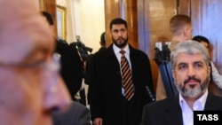 Лидер палестинской группировки ХАМАС Халед Машааль встретился в Москве с Сергеем Лавровым