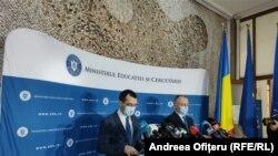 Vlad Voiculescu și Sorin Cîmpeanu anunță regulile pentru redeschiderea școlilor